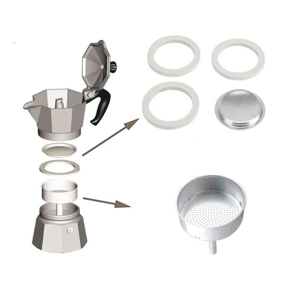 1 or 2 Cup Bialetti Moka Express Replacement Handle